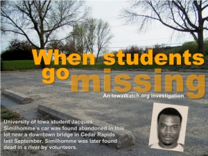 When Students go missing: an Iowa Watch report